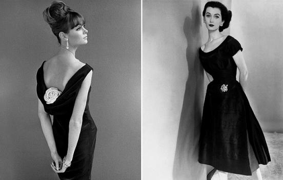 Джин Шримптон и модель Довима