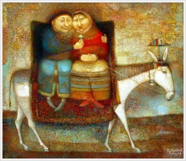 Нико Херкеладзе (Грузия, 1953) «Долгая дорога жизни» 2011