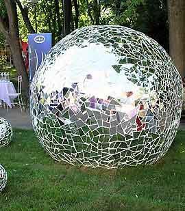 Как сделать бетонные шары 121