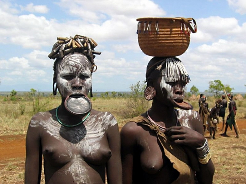 Эротические фото африканских племен 2 фотография