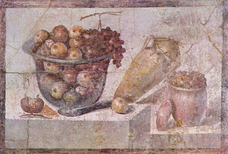 Древнеримская фреска