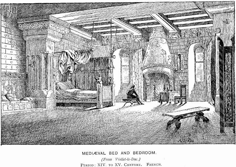 Medieval_Bed_and_Bedroom