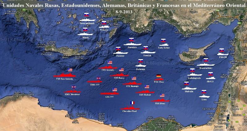 conflicto sirio buques 8 sep 2013