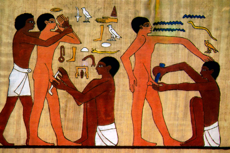 Illustration_Egyptian_Circumcision_Scene_Egyptians_Middle_Easterners_North_Africans_Africans_b_b