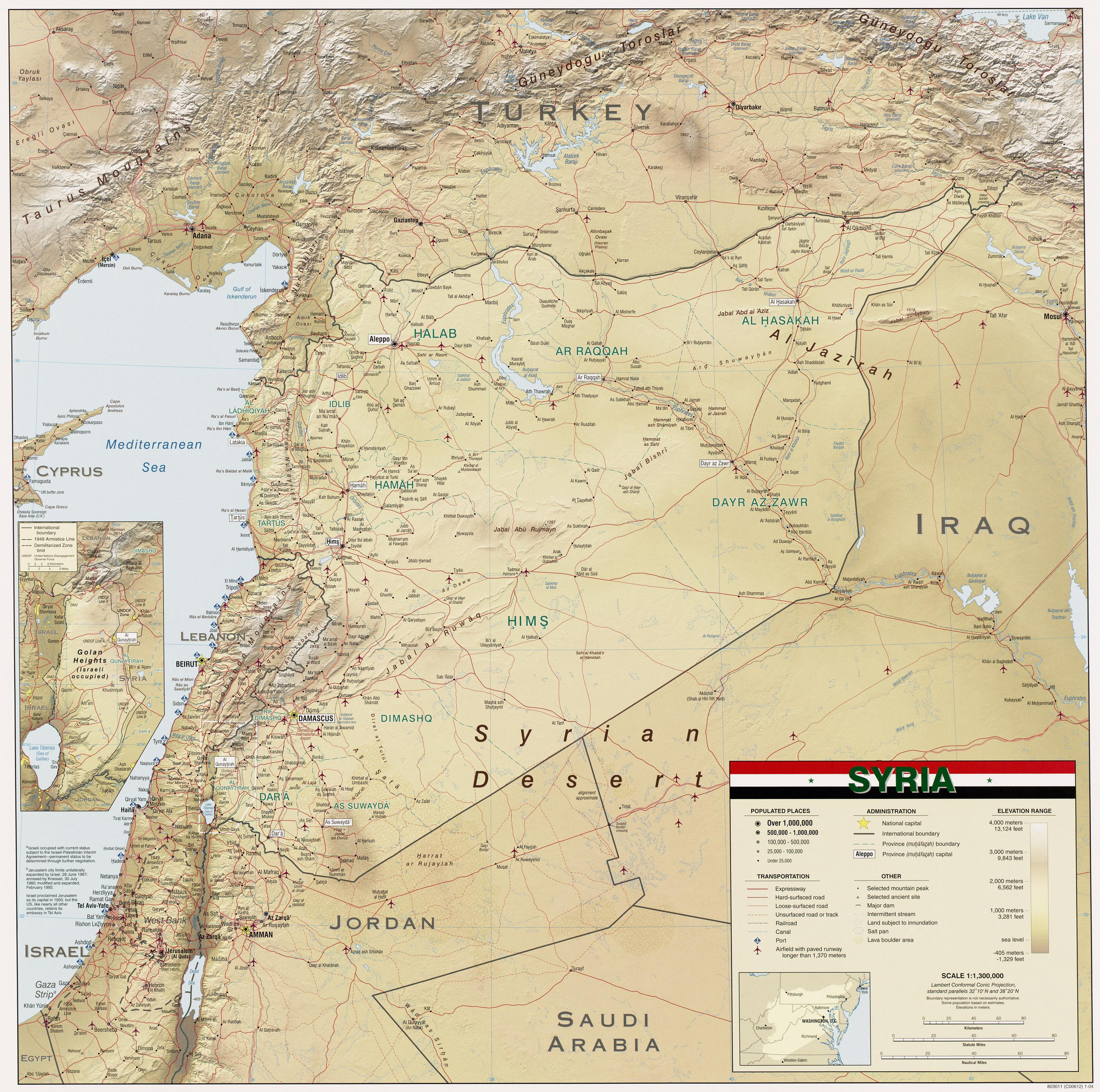 Сирия-Ливан. Декабрь 2011. Карта Сирии - Красно-Черный: http://krasno-cherniy.livejournal.com/109083.html