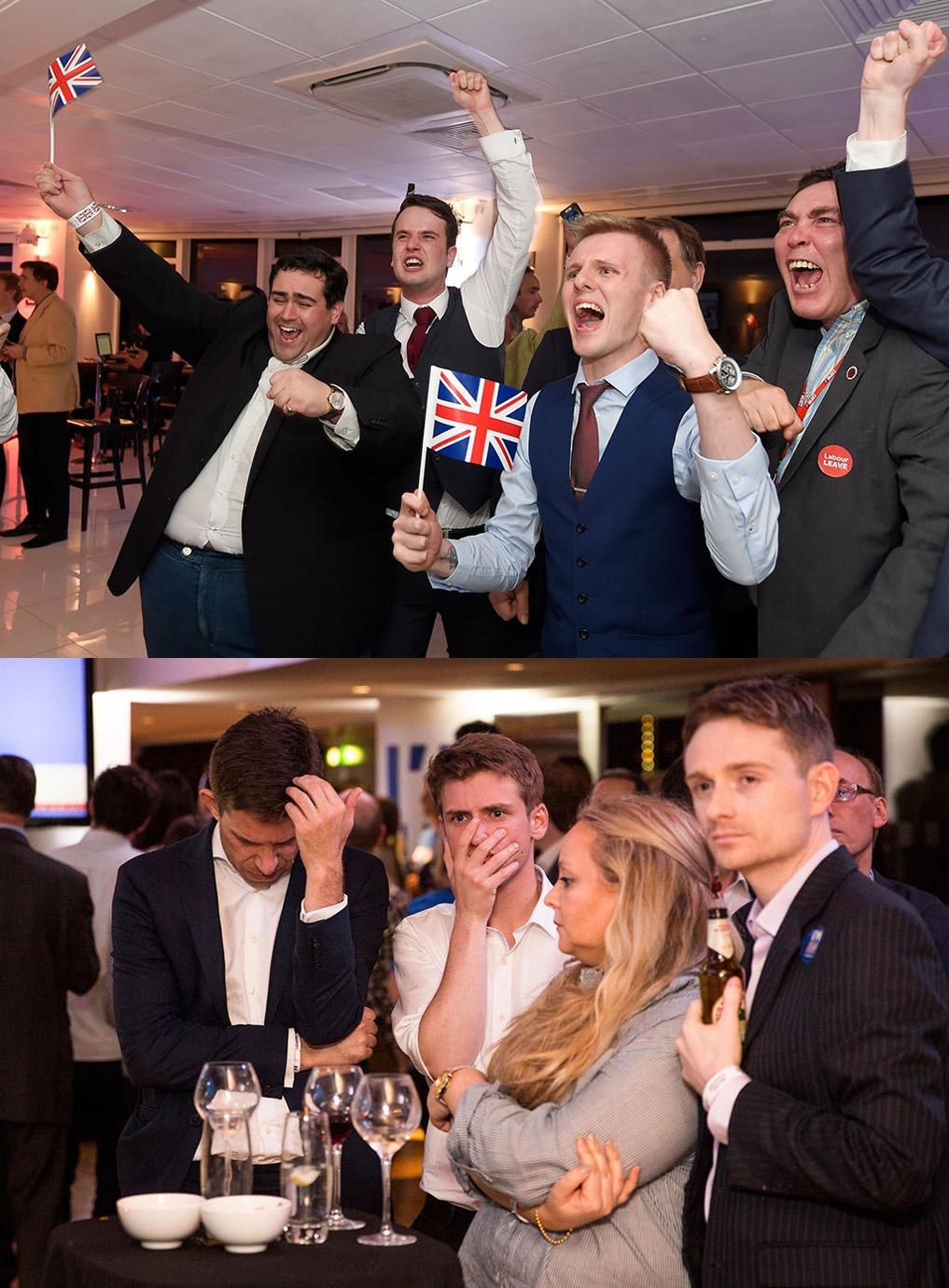 о членстве Британии в Европейском Союзе проголосовали за выход страны из Евросоюза