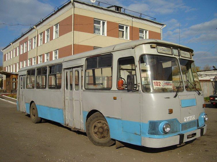 Лиаз-677М у меховой фабрики «Белка»(2005 год)