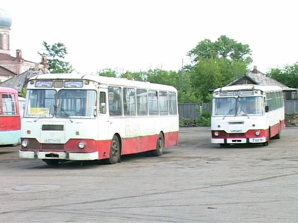 Слободские Лиазы-677м в ПАТП