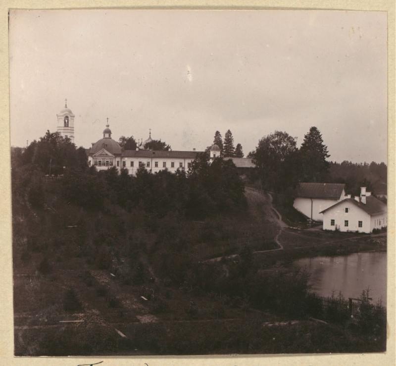 Свято-Троицкий Александро-Свирский монастырь Вхо в собор 1909