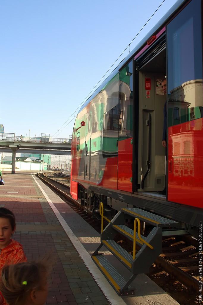 Инициатива Низким платформам - низкопольные электропоезда! - нужна