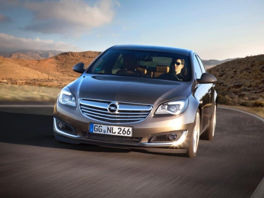 Обновленный Opel Insignia 1