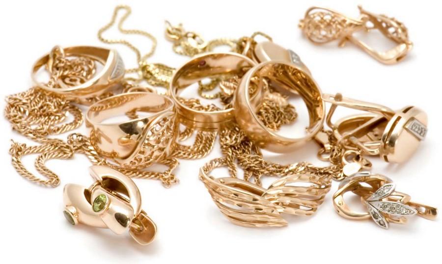 Ювелирные украшения из различных металлов 2