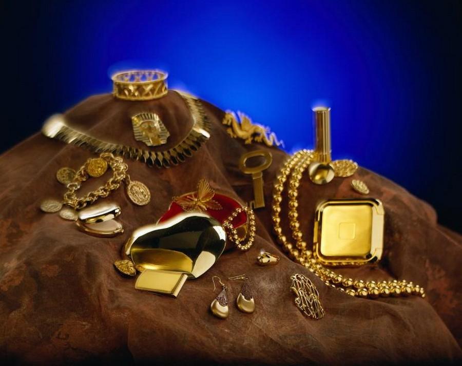 Ювелирные украшения из различных металлов 3