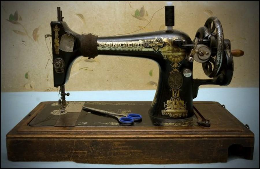 Фотография для искателей палладия, платины и других металлов в швейных машинках зингер, singer и zinger