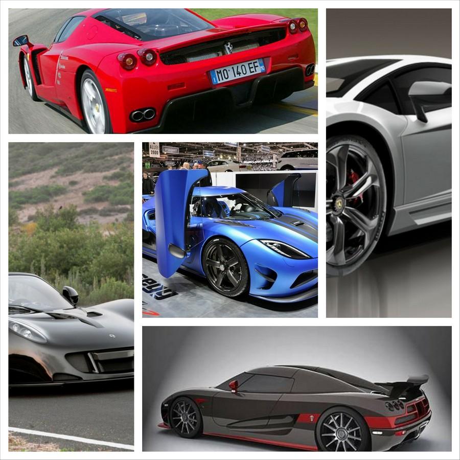 Самые быстрые машины - десятка лучших