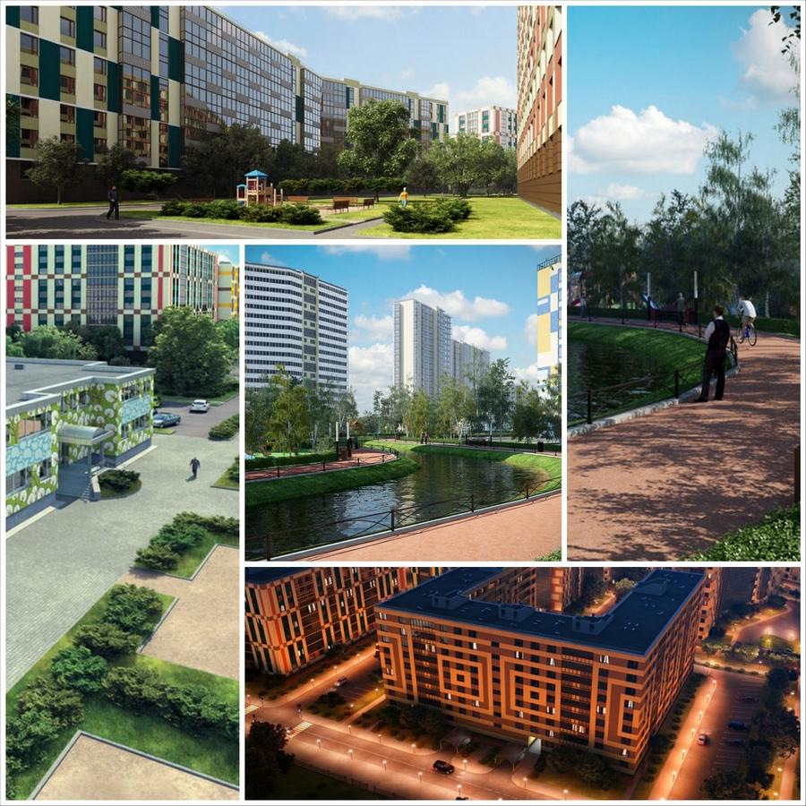 Новый жилой квартал «Вена» в Кудрово