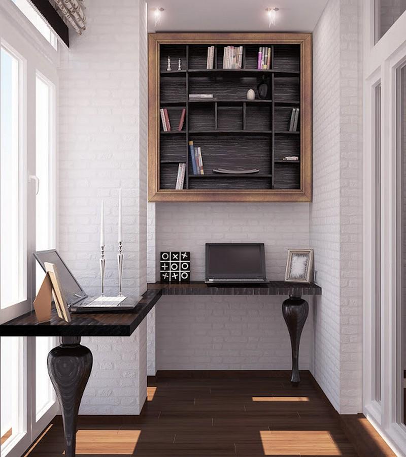 Стол для пк на балкон. - галерея работ совмещение - каталог .