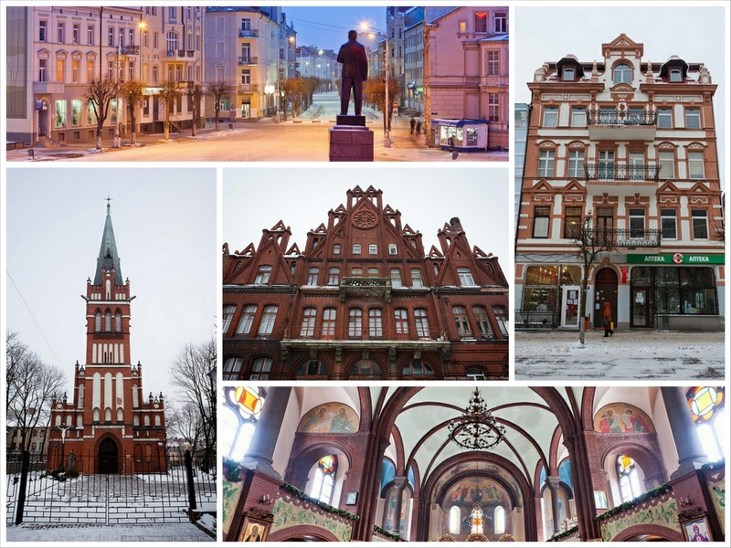 Интересные места Калининграда и области