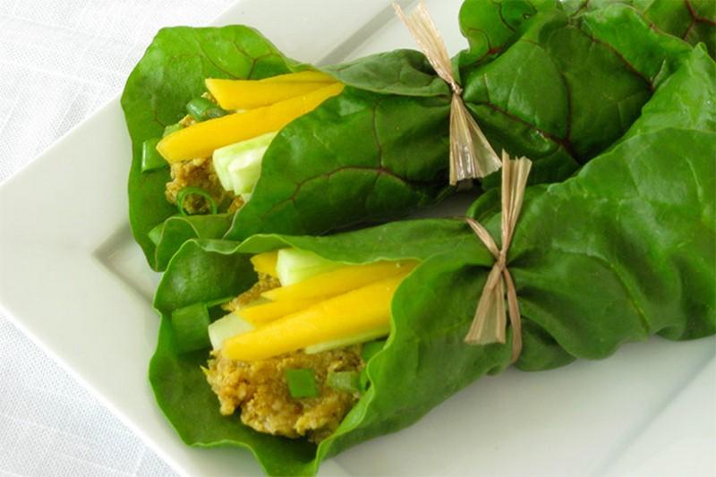 Блюда из мангольда рецепты с фото