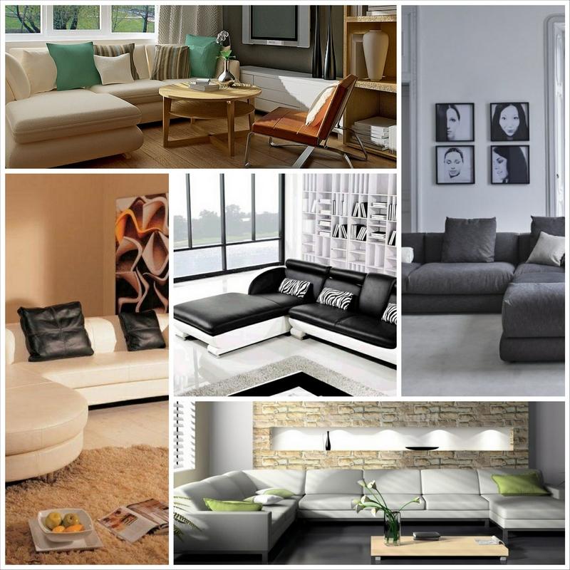 Угловые диваны в гостиную и их удобная расстановка