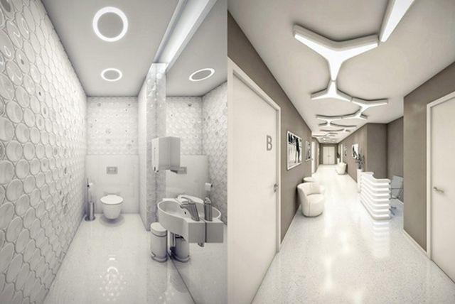 Дизайн проект модной больницы от студии Geometrix 2