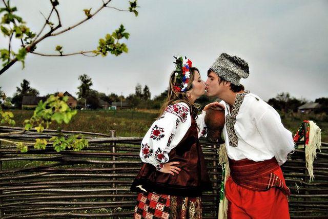 Украинская свадьба - древние традиции 1