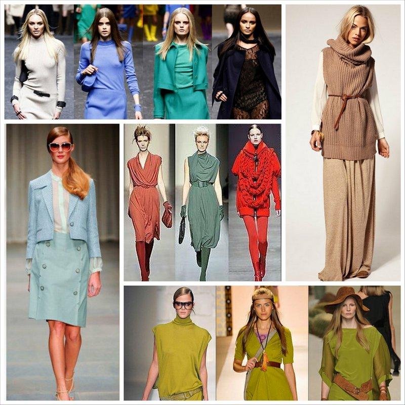 Однотонная одежда и ее место в мире моды