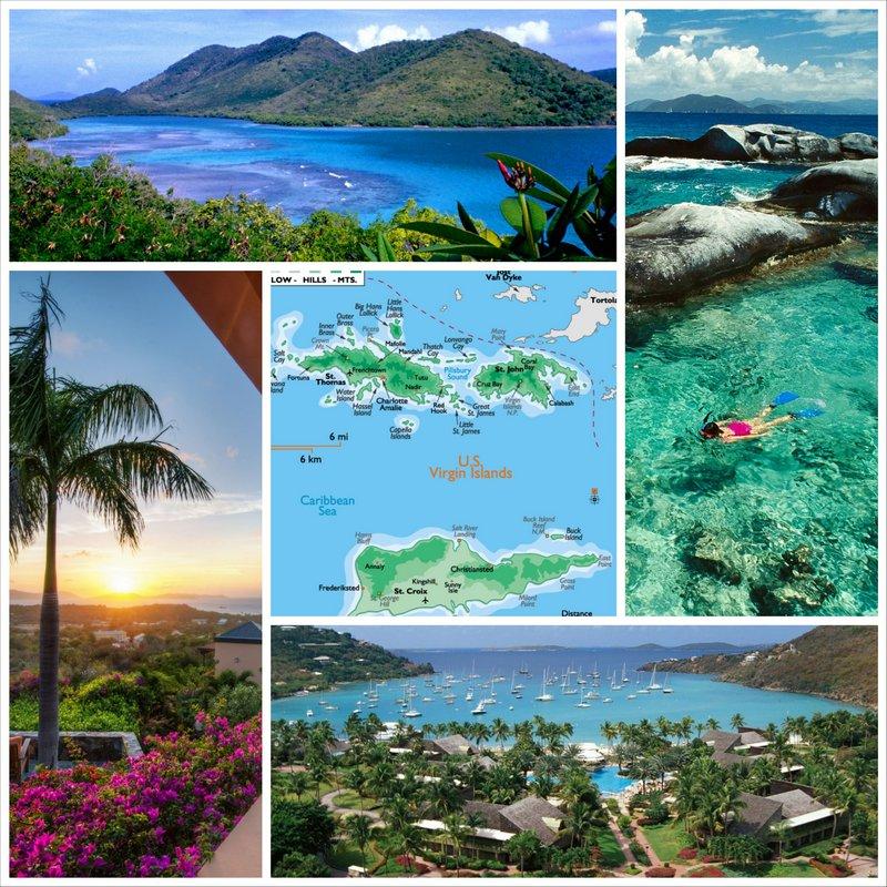 Виргинские острова - райское место на Земле