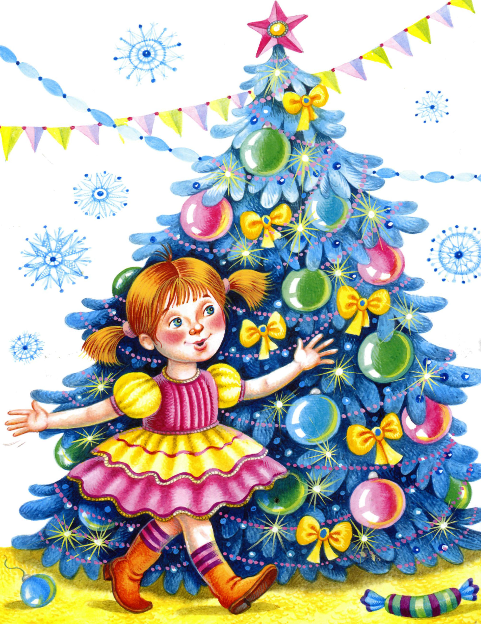 Новогодняя елка - символ Вечной жизни - Power of art: http://kreep-81.livejournal.com/1129032.html