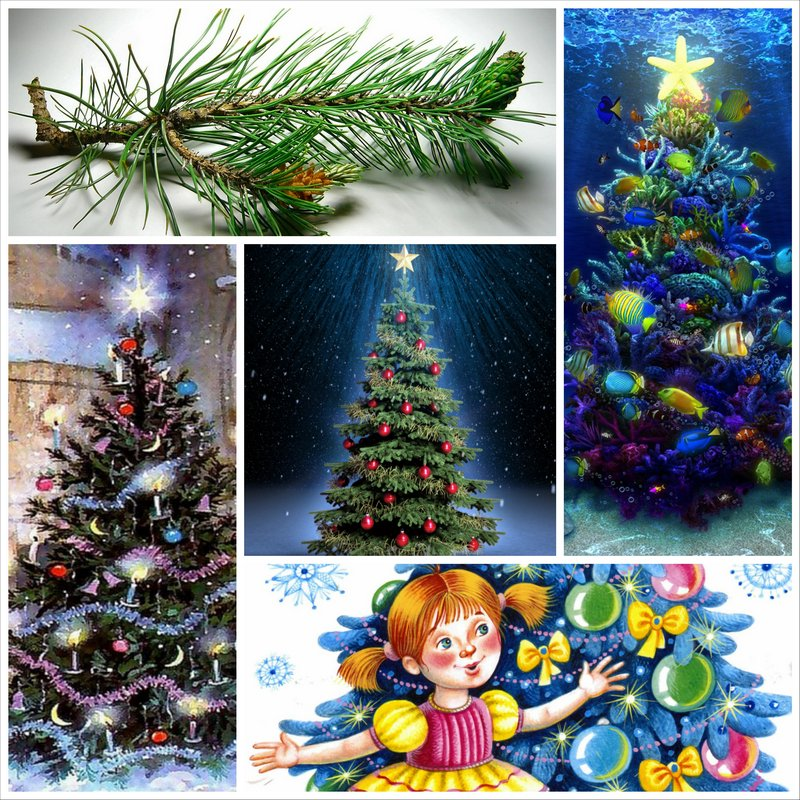 Новогодняя елка - символ Вечной жизни