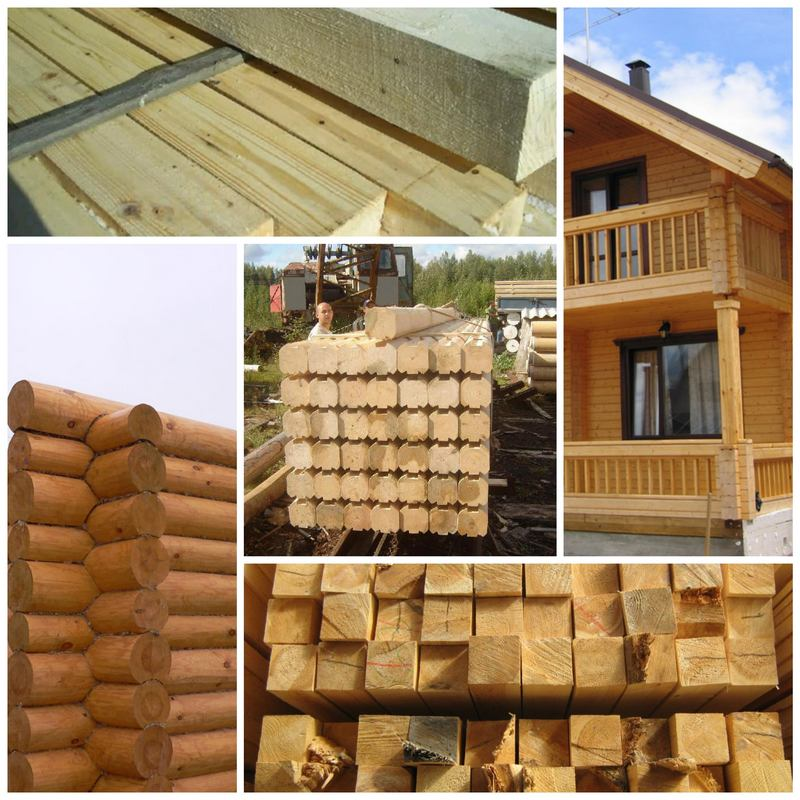 Как выбрать дерево для постройки дома