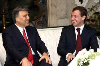 переговоры Дмитрия Медведева с Президентом Турции Абдуллахом Гюлем