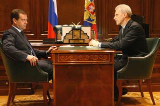 Дмитрий Медведев провёл рабочую встречу с Министром образования и науки Андреем Фурсенко