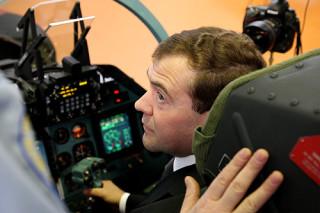 Дмитрий Медведев посетил Иркутский авиационный завод.
