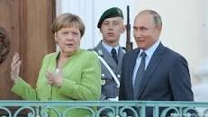 Ангела Меркель и Владимир Путин провели переговоры