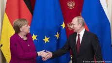 Что обсуждали Меркель и Путин в Кремле