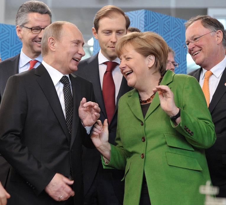 Потрясающее послание гражданина Германии Владимиру Путину!