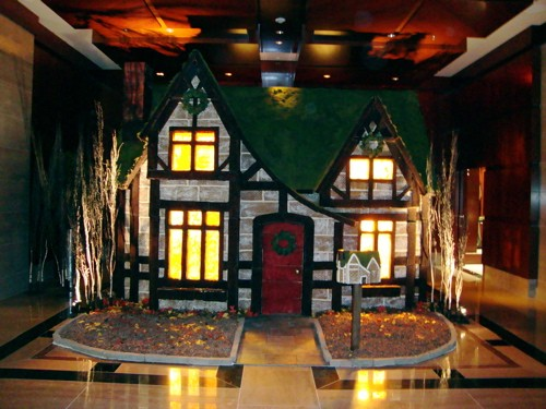 Green Gingerbread House-The Ritz-Carlton, Charlotte