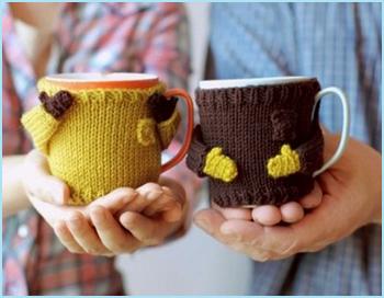 свитерок для чашки
