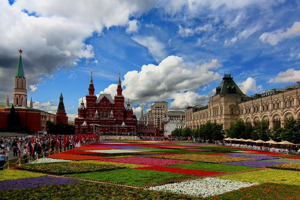 Московское лето картинки