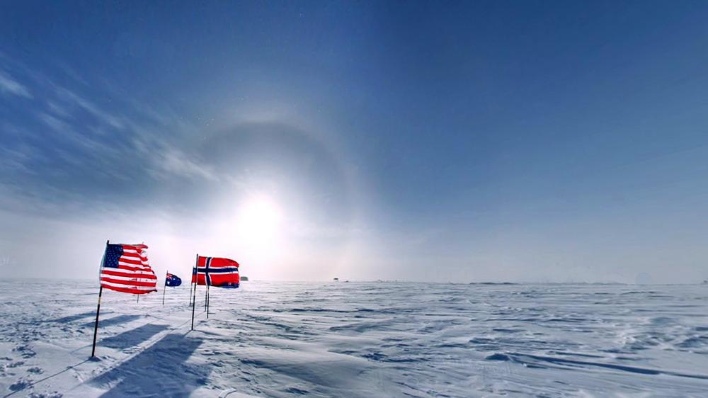 южный полюс зимние фотографии шведском