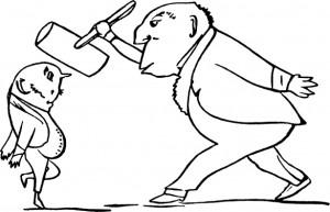 Законодатели. Картинка из старой книги