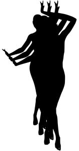Женщины синхронно танцуют