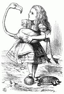Алиса удивлена