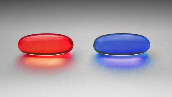 Две пилюли: красная и синяя