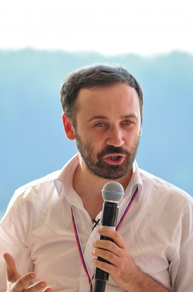 пономарев приветсвтует участников форума