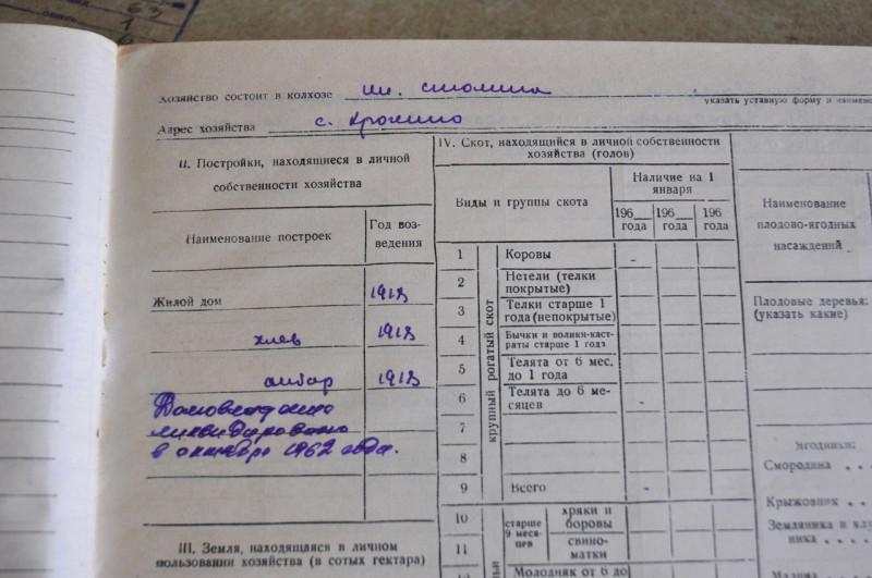 """""""Домовладение ликвидировано в октябре 1962 года"""". Фото: Виктория Тищенко"""