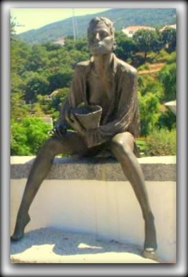 Portimao. Portugal памятник проститутке