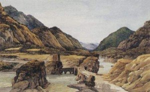 4 Помпеев мост. Мцхета. Никанора Чернецова, 1832.jpg