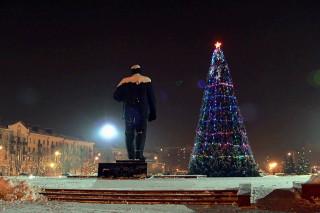 Зимняя сказка в Бобруйске